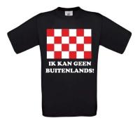 Ik kan geen buitenlands Brabant T-shirt