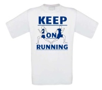 Keep on running shirt