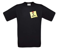 Keep on smiling post it T-shirt