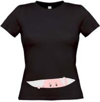 Kiekeboe T-shirt Neutraal zwanger