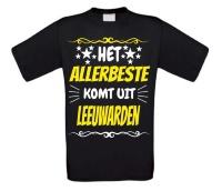 Leuk en grappig shirt Leeuwarden