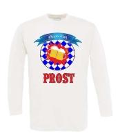 Prost Oktoberfest T-shirt lange mouw