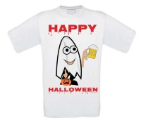 Spook Happy Halloween Bier T-shirt