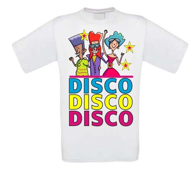 Super fout disco t-shirt