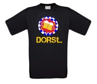 T-shirt Grappig oktoberfeest dorst