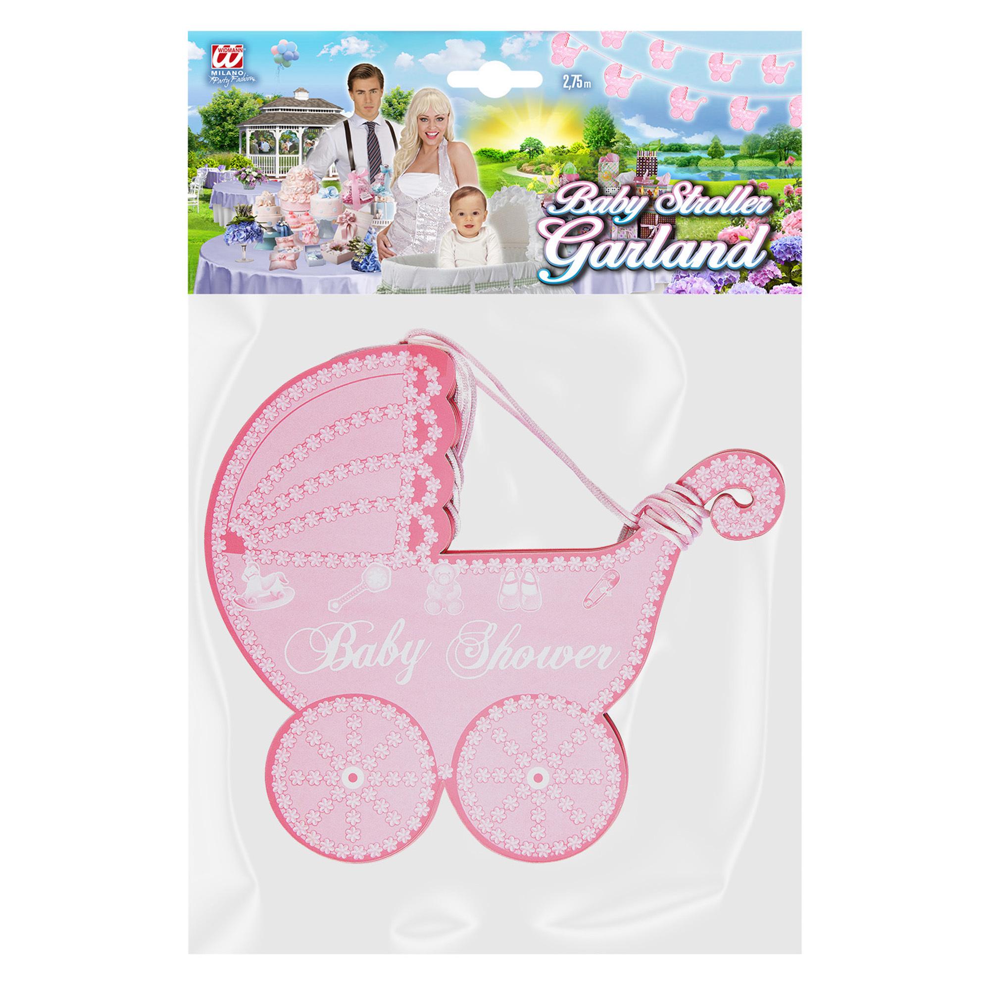7c5a20cc424a4d ... foto 2 Versiering slinger baby shower roze meisje