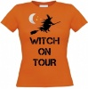 Witch on tour Halloween T-shirt