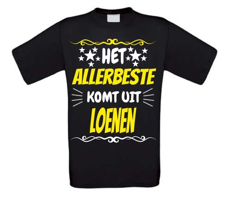Super orgineel shirt Loenen
