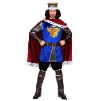 Koninklijk koning kostuum luxe volwassen