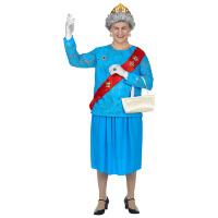 Queen Elisabeth kostuum koningin van Engeland