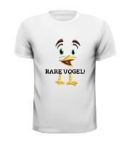 T-shirt rare vogel