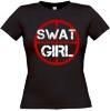 T-shirt Swat Girl