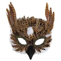 Veren uilen masker den wijze uil
