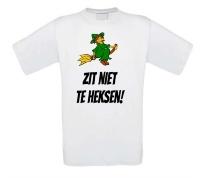 Zit niet te heksen T-shirt