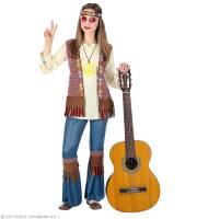 Zomerse Hippie outfit meisje love and peace