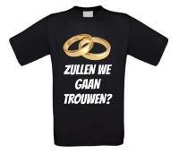 Zullen we gaan trouwen T-shirt