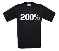 200 procent T-shirt