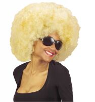 Afro pruik blond jimmy
