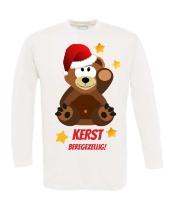 Beregezellig kerst T-shirt lange mouw