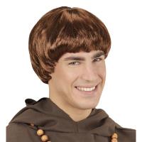 Bruine monnik pruik Jacobus