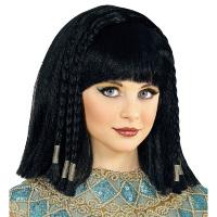 Cleopatra pruik gevlochten haar kind