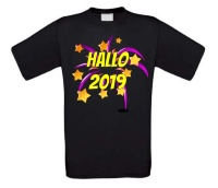 Hallo 2019 T-shirt new years eve