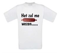 Het zal me worst wezen T-shirt