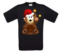 Kerst beer T-shirt