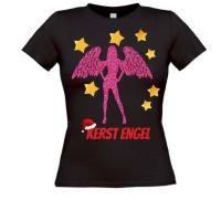 Kerst engel T-shirt