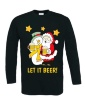 Kerstfeest T-shirt lange mouw