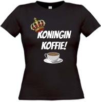 Koningin koffie T-shirt