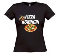 Koningin pizza T-shirt