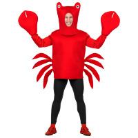 Krabben kostuum de rode krab volwassen