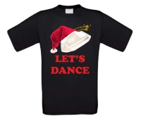 Let's dance kerst T-shirt