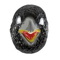 Masker zwarte kraai pvc volwassen