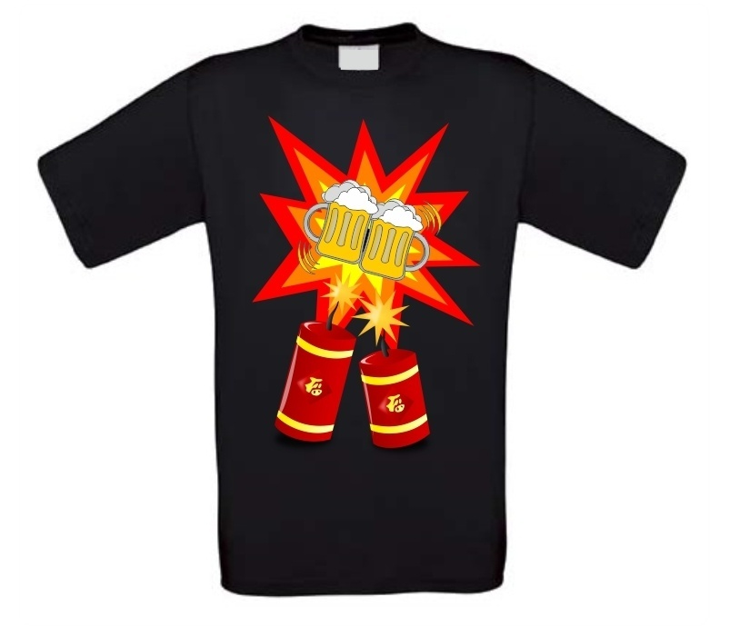 New years eve feest t-shirt