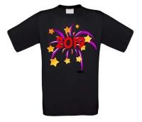 Vuurwerk 2019 nieuwjaar t-shirt