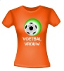 T-shirt Voetbal vrouw
