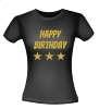 foto 2 Happy birthday glitter T-shirt