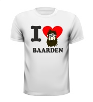 I love baarden T-shirt