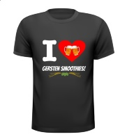 I love gersten smoothies bier t-shirt