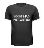 Joost mag het weten T-shirt