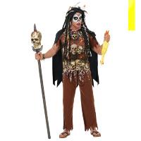 Voodoo priester Desmond kostuum heren