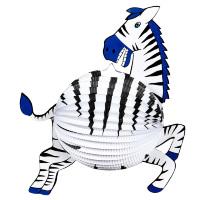 Zebra lampion 42 cm