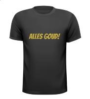 Alles goud glitter shirt