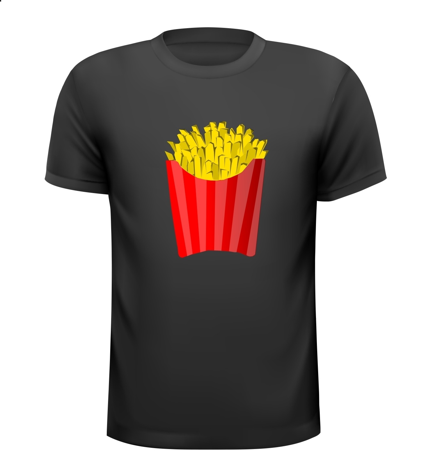 Fashion food friet shirt