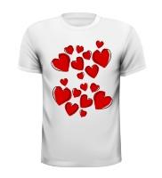 Harten hart valentijn shirt