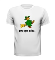 once upon a time sprookjes t-shirt