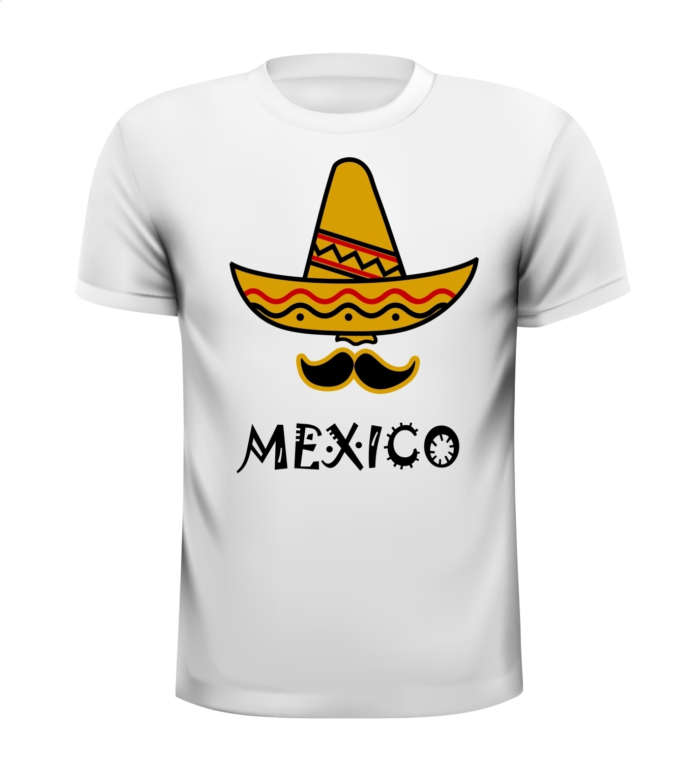 Sombrero Mexico shirt