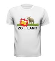 Zo lam feest t-shirt